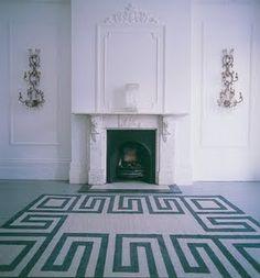 Fashionable Interiors: Greek Keys
