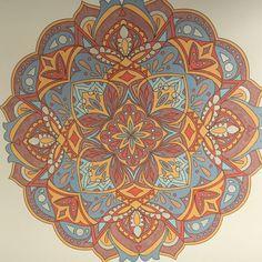 ColorIt Mandalas to Color Volume 1 Colorist: Beth Hulet LaRocca #adultcoloring #coloringforadults #mandalas #mandalastocolor