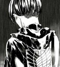 Levi Ackerman (Rivaille) - Shingeki no Kyojin / Attack on Titan, manga Ereri, Levihan, Levi Ackerman, Armin, Levi X Eren, Manga Anime, Anime Guys, Anime Art, Otaku Anime