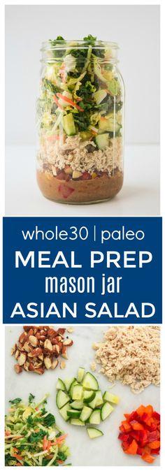 Meal Prep Mason Jar