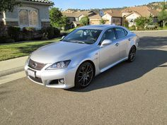 2014 Lexus IS-F front 3/4 view