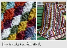 How To Make a Shell Stitch - Crochet Pattern
