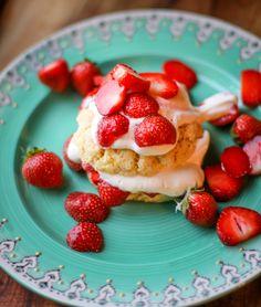 Strawberry Citrus Shortcakes