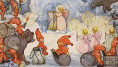 Adventskalendern | Nordiska museet-by swedish artist Aina Stenberg