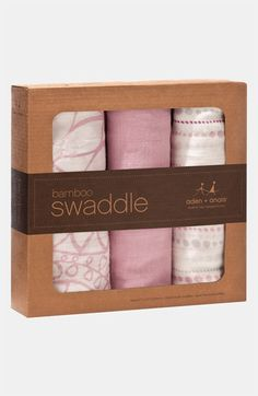 aden + anais Swaddling Cloths (3-Pack) | Nordstrom