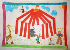 Clown Crafts, Circus Crafts, Circus Clown, Busy Book, Crafts For Girls, Clowns, Projects, K2, Theater