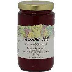 Messina Hof signature Port Wine adds festive flavors featuring hints of chocolate-cherries, cloves, and allspice. This jam is perfect for the Holidays or any time of the year you want to add a touch of cozy spice to your table.