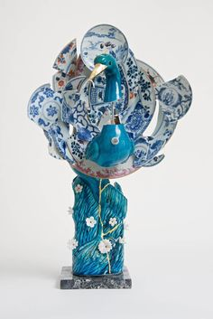 Beautiful Fragmented Porcelain Creations