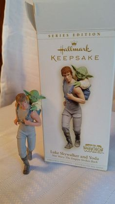 HALLMARK ORNAMENTS STAR WARS KEEPSAKE LUKE SKYWALKER & YODA in Collectibles, Decorative Collectibles, Decorative Collectible Brands | eBay