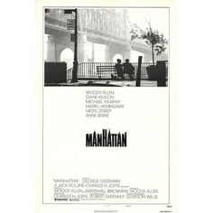 1979 Original Manhattan Movie Poster (895 PEN) ❤ liked on Polyvore featuring home, home decor, wall art, posters, signed lithograph, paper wall art, manhattan poster, signed posters and signed movie poster