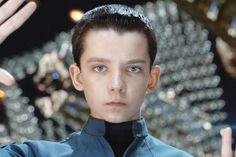 Asa Butterfield in Enders Game