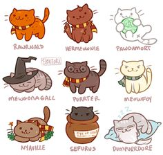 Honestly the cutest out of all of these is Voldemort :P