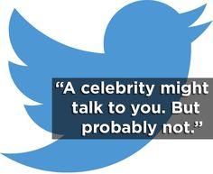 Twitter. | 18 Brutally Honest Slogans For The Apps That Everyone Has. #OnlineMarketing #Twitter #SocialMedia