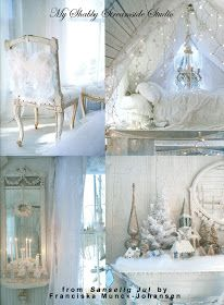 My Shabby Streamside Studio: Sanselig Jul: A Christmas For All The Senses by Franciska Munck-Johansen
