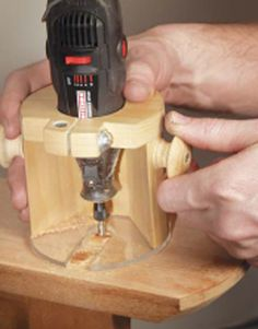 Rotary Tool Base - Woodworking Shop - American Woodworker