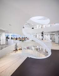 Image result for curved stair university