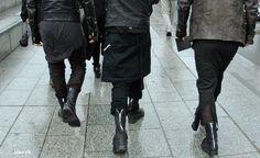 Goth Ninja skirts
