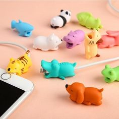 Digital Cables Cute Animal Bite For Iphone Cable Protector Cute Animal Cable Chompers Winder Organizer Panda Bites Doll Model Holder We Have Won Praise From Customers Consumer Electronics