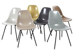 DSX Chairs von Charles und Ray Eames für Herman Miller, 6er Set - Esszimmerstühle & Sets - Sitzmöbel - Möbel - Produkte