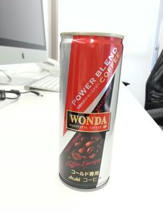 WONDA POWER BLEND COFFEE Blended Coffee, Coke, Red Bull, Energy Drinks, Coca Cola, Protein, Beverages, Packaging, Canning