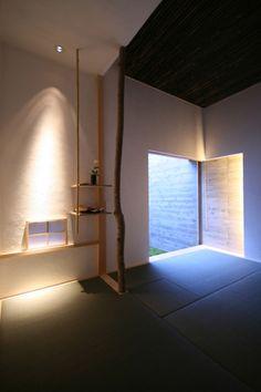 [茶室 モダン image] Japanese Bar, Japanese Modern, Japanese Interior, Japanese House, Japanese Design, Interior Architecture, Interior And Exterior, Floor Design, House Design