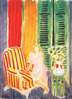 Girl in Pink in an Interior. 1942. Henri Matisse