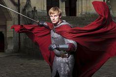 "Bradley James plays Arthur Pendragon in ""Merlin."" (BBC / Syfy)"