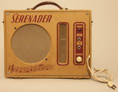B & J Serenader Suitcase Tube Amplifier, probably Valco, c. 1950's