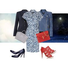 """""""Zebras know to have fun"""" by skybrace on Polyvore"""