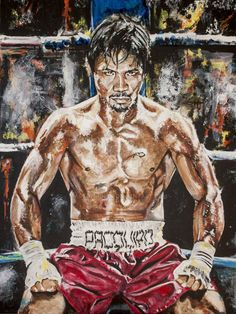 Manny Pacquiao, Muay Thai, Boxe Mma, Boxing Images, Ufc Boxing, Philippines Culture, The Legend Of Heroes, Boxing Champions, Sport Icon