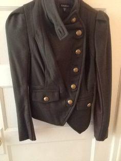 Bebe | Threadflip Green Coat, Pea Coat, Jackets, Inspiration, Fashion, Bebe, Green Trench Coat, Down Jackets, Biblical Inspiration