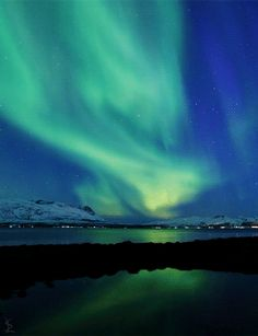 Aurora Borealis, beautiful GIF