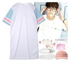 Jackson Wang (GOT7) by evil-maknae on Polyvore featuring polyvore fashion style ASOS bluezoo Wildfox clothing