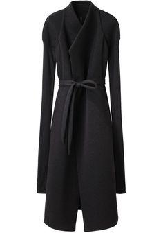 Rick Owens Lilies | Neoprene Jersey Coat | Shop at La Garçonne
