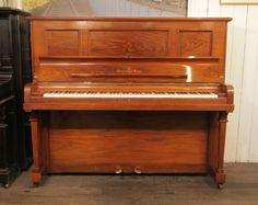 A 1901, Steinway Vertegrand Upright Piano For Sale with a Rosewood Case at Besbrode Pianos