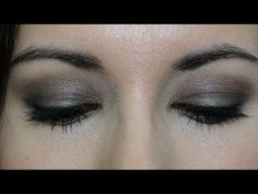 ▶ Look ahumado Naked palette - YouTube