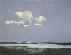 Creek at Low Tide, Burnham Overy by John Newland Landscape Art, Landscape Paintings, Water Art, Sea Art, Still Life Art, Seascape Paintings, Light Art, Contemporary Artists, Graphic Art
