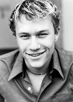 Heath Ledger. thank you heath ledger for being a great actor (Despite his method acting, i feel that he is an amazing actor)