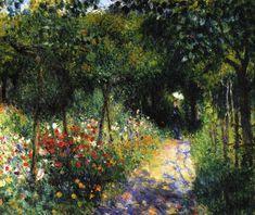 Pierre-Auguste Renoir Woman at the Garden