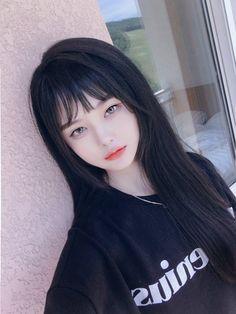 Pin by Treasure Box Funny Box on 여자 in 2019 Pretty Korean Girls, Cute Korean Girl, Cute Asian Girls, Beautiful Asian Girls, Cute Girls, Emo Girls, Beautiful Women, Cute Japanese Girl, Ulzzang Korean Girl