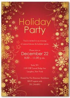 Free Christmas Invite Templates. free printable holiday invitation ...