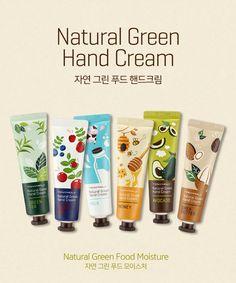 [TONYMOLY] Natural Green Hand Cream ( 6Kinds )