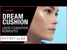 Get complete coverage with fresh-faced perfection from NEW Dream Cushion liquid foundation. The new innovative format brings liquid foundation to a new level. Makeup Tips Foundation, Liquid Foundation, Natural Makeup Looks, Makeup Trends, Maybelline, Cushions, Make Up, York, Compact