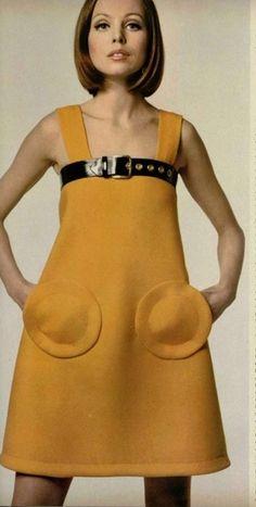 MOD dress by Pierre Cardin, 1968.