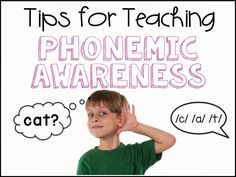Primary Chalkboard: Ideas for Teaching Phonemic Awareness