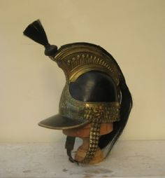 Though this or Kings Dragooon Guards 1812 Cavalry Helmet was produced after waterloo, it is still an 1812 design. Best Uniforms, Military Uniforms, Spring Carnival, Napoleonic Wars, British Army, Military History, Headdress, Gentleman, Captain Hat