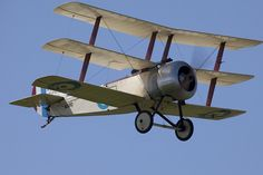 Sopwith Triplane- so, so neat. Don't see triplanes too often.