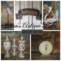 Shop Alton's Antique Barn #antiquemarketdecor