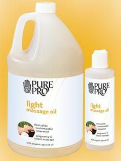 Pure Pro Light Blend Massage Oil