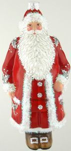 Patricia Breen, Stratford Claus, Red W/Silver Holly 2015